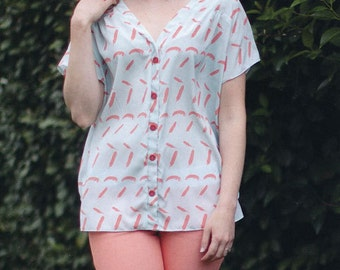 Aida Top by Sew Liberated Sewing Pattern