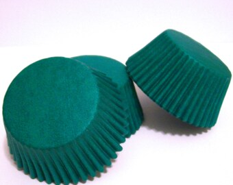 Green Baking Cups- Choose Set of 50 or 100
