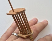 Bamboo Cricket Cage Ring  0306  from Rachel Smith
