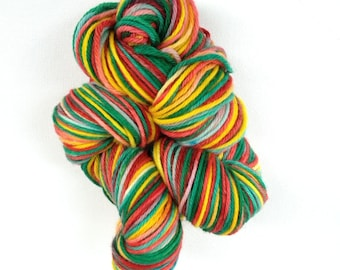 RAINBOW LOLLIPOP - Superwash Merino Wool - worsted