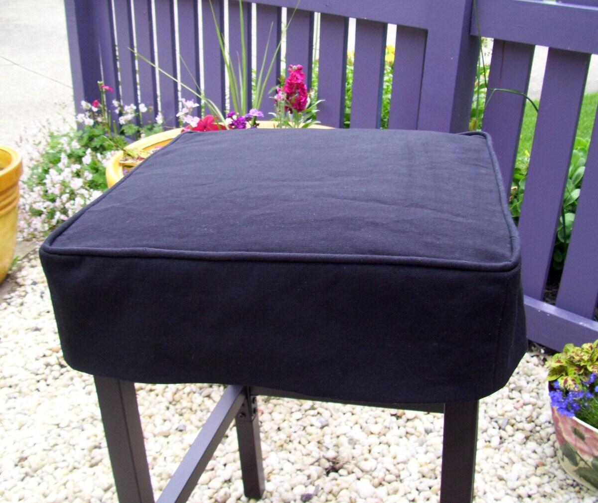 black canvas carr tabouret housse lavable bar tabouret. Black Bedroom Furniture Sets. Home Design Ideas