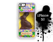 iPhone 5C Easter Bunny Chocolate Bunny Case Trim Phone Case Color Choice