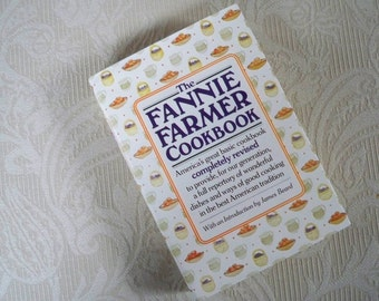 """Vintage Book """"The Fannie Farmer Cookbook"""" 12th. Edition Hardcover Collectible Book"""
