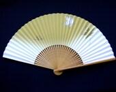 Japanese Hand Fan Paper Fan Sensu Leaves F31