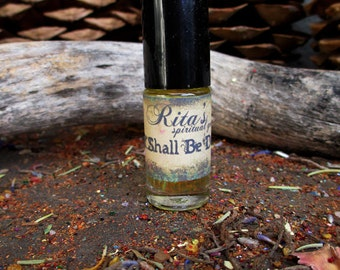 Rita's It Shall Be Done Ritual Oil - Will Power, Follow Through, Sowing Seeds, Make it Happen - Pagan, Magic, Witchcraft, Hoodoo