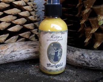Rita's Marigold Hoodoo Spiritual Mist Spray - Pagan Magic, Hoodoo, Witchcraft, Juju