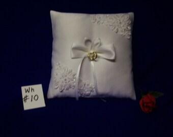 Ring Bearer Pillow   (white # 10)