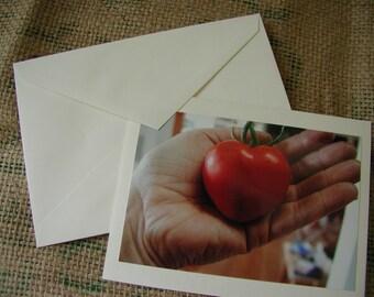 Tomato Love Notecard