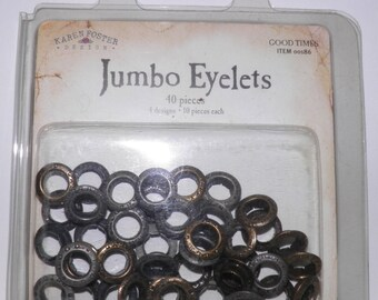 ON SALE  Jumbo Eyelets - Good Times