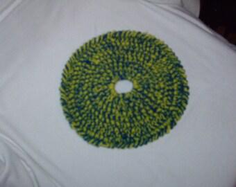 Crocheted Dog Frisbee for smaller dog