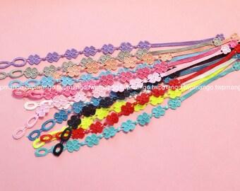 Lace Bracelets...Set of 12pcs...12 Colors...Fashion Lace Bracelets... N113-2