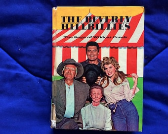 Vintage and rare Beverly Hillbillies fiction book from the 1960s