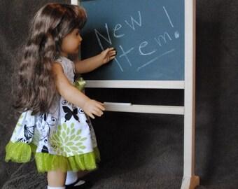 Doll Chalkboard/Dry Erase Board - Fits 18 Inch Dolls