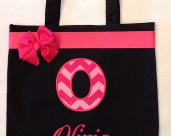 Personalized Tote Bag, Personalized Tote, Chevron initial Tote Bag, Chevron Tote, Initial Gift, Personalized Chevron, Baby Shower Chevron