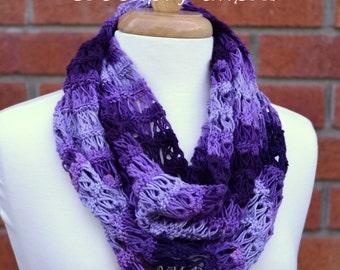 Lace Infinity Scarf Crochet pattern