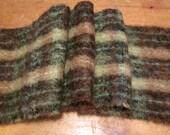 Vintage Scottish Mohair Wool Scarf