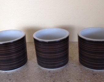 Set of 3 Pyrex Terra Mugs