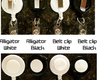 Velcro Badge Reel Base  *PICK ONE*