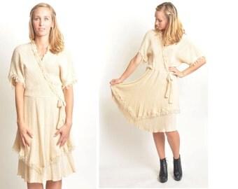 Vintage 70s Wrap Dress