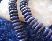 144 6mm flat round laps lazuli beads beading jewlery making blue lapis beads stone of truth & success deep blue gold rough cut laps