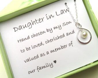 Wedding Gift For Future Step Daughter : Daughter In Law Gift - Gift Boxed Jewelry Thank You Gift ...
