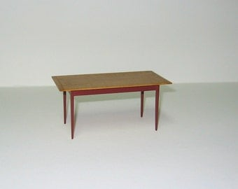 Dining Table for Dollhouse - 1/12th scale