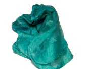 Mawatas Silk Hankies Turquoise Dark - 14 grams