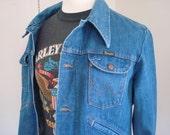 SALE! 70s wrangler denim jacket m/l