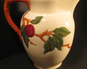 Franciscan Apple Water Pitcher, 64 oz, with Ice Lip, 1960s, on Etsy by TheRetroLife