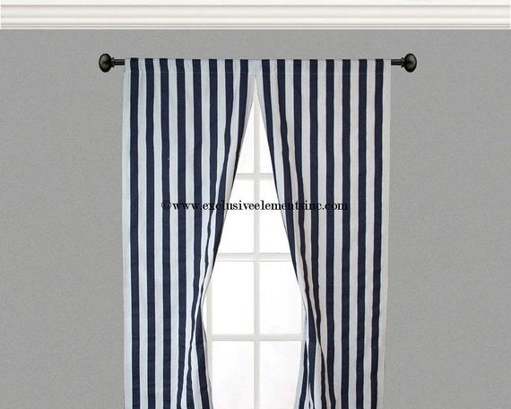 Unavailable listing on etsy - Rideau blanc et bleu ...