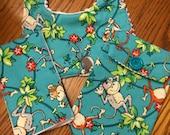 Three Piece Diaper/Wipie Case, Bib and B urp cloth Set