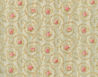 Notting Hill by Robyn Pandolph for RJR Cotton Fabric 1623-01 Scrolls and Roses