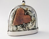 If You Want to Be Rich, Money Can't Buy, Quote Locket, Heart Locket, Moss Terrarium Necklace, Proverb