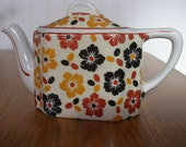 Hall Teapot Single Serve Chintz 1930s ON SALE