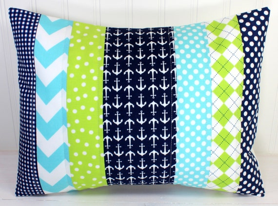 7 Inspiring Kid Room Color Options For Your Little Ones: Nursery Pillow Cover Throw Pillow Cover Anchor Nursery