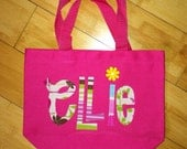 Personalized Kids Tote Bag