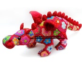 Smaug the African Flower Dragon Crochet Pattern