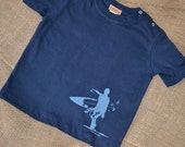 boy surf / surfer / surf board shirt 24 months infant and toddler