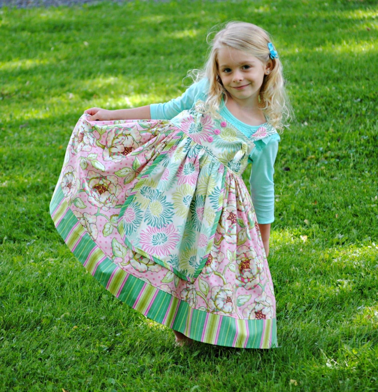 Girls Apron dress Girls Clothing Toddler Dress Childrens