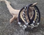 Custom Horsehair Bracelet - Single Strand Round Braid - 6MM