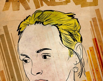 Laura Marling Poster Limited Edition of 100