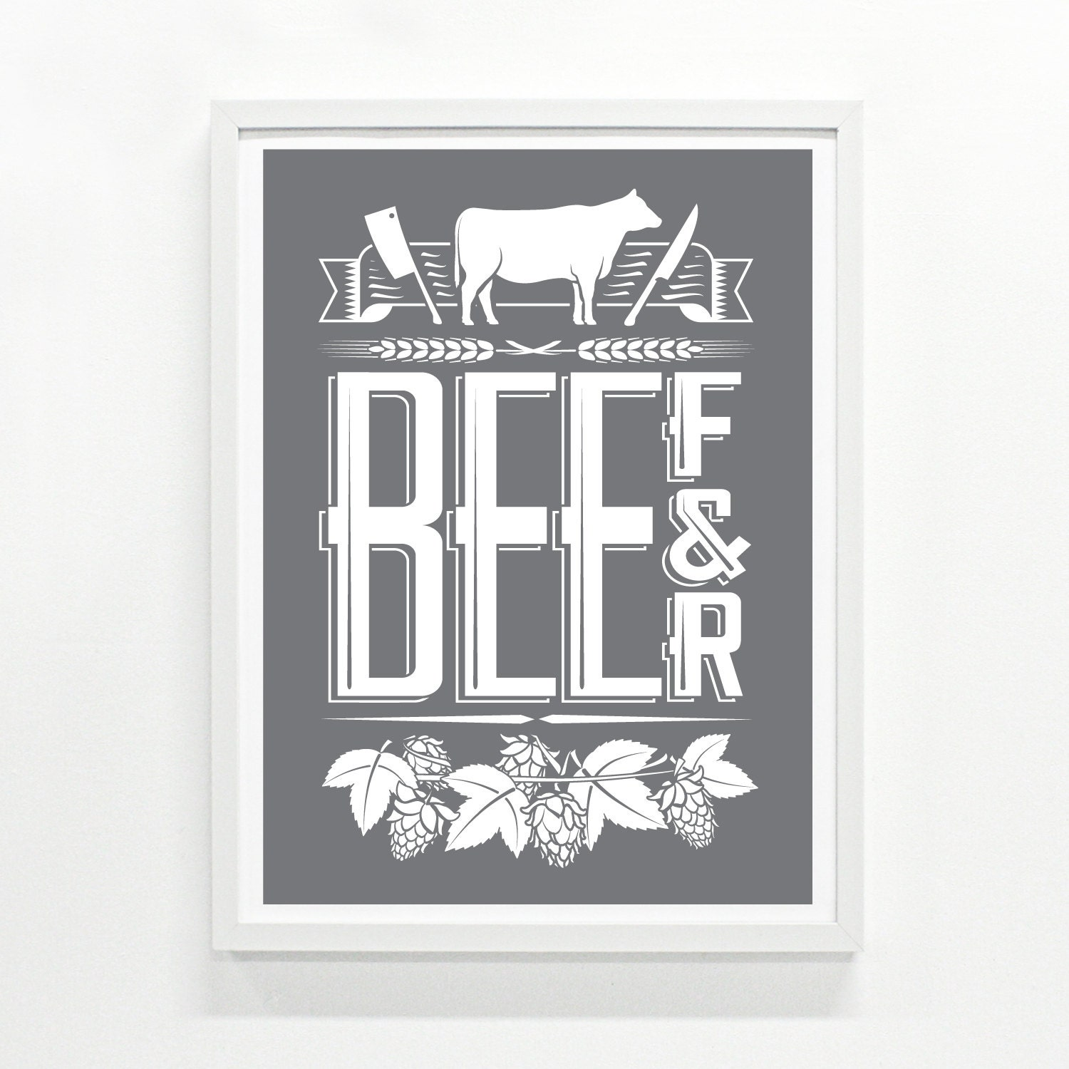 Gifts for him or for her foodie gifts kitchen decor mens - Mens kitchen decor ...
