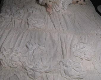 Cream Off White Queen Double Bedspread Anthropologie