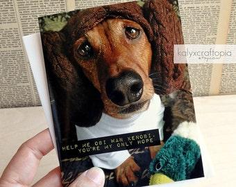 princess leia thank you card