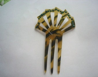 Popular items for tortoise shell comb on etsy for Real tortoise shell jewelry