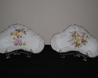 Vintage Candy Dishes--Set of Two