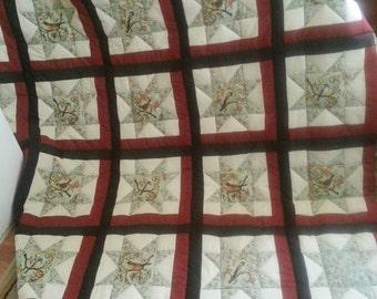 Songbird Queen sized quilt