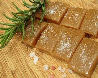 Savory Artisan Sea Salted Caramels  4 OZ. Box