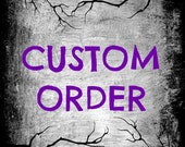 Custom Order for  michelle Herbst  Vintage Dictionary Art  Buy 2 Get 1 Free