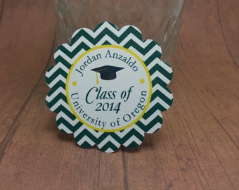 Graduation tags - Custom made for your school